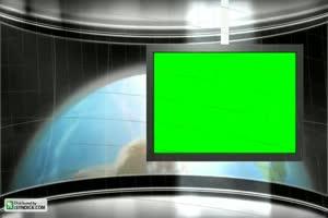 虚拟直播间 演播室 背景素材 特效抠像 直播背景