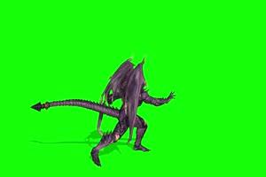 绿幕视频素材怪兽1 绿幕视频素材 巧影剪映 特效