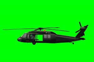 黑鹰 直升机 6 飞机 绿屏绿幕 抠像素材手机特效图片