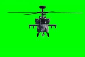 Apache 直升机 6 飞机 绿屏绿幕 抠像素材手机特效图片
