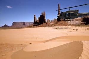 直升机 4 巧影手机特效绿屏抠像素材免费下载