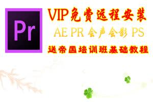 PR软件 免费远程安装 终身
