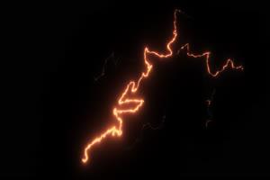 闪电 电光 透明通道 专业绿布和绿幕视频抠像素材